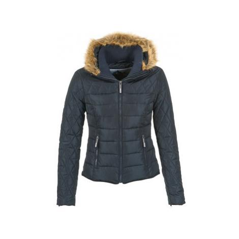 Superdry ULTRA QUILT BIKER women's Jacket in Blue