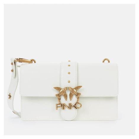 Pinko Women's Love Classic Icon Simply Shoulder Bag - White