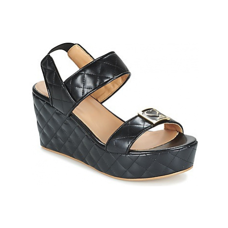 Love Moschino JA16107E13 women's Sandals in Black