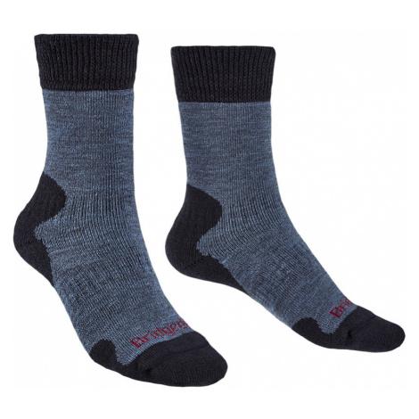Bridgedale Womens Explorer Heavyweight Merino Comfort Boot Socks-Storm Blue-7 - 8.5