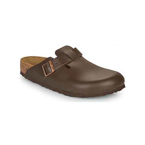 Birkenstock BOSTON SFB men's Clogs (Shoes) in Brown