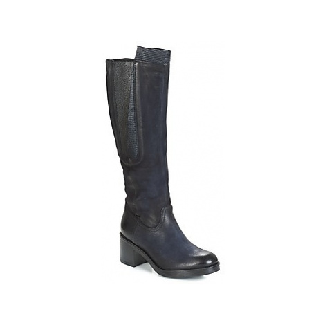 Dream in Green HUFRO women's High Boots in Blue