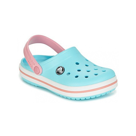 Crocs Crocband Clog Kids girls's Children's Clogs (Shoes) in Blue