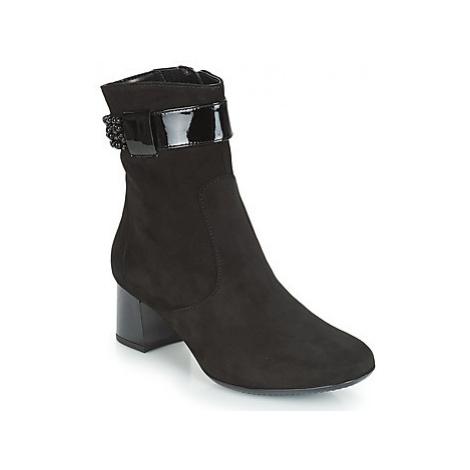 Ara GESPIRINO women's Low Ankle Boots in Black