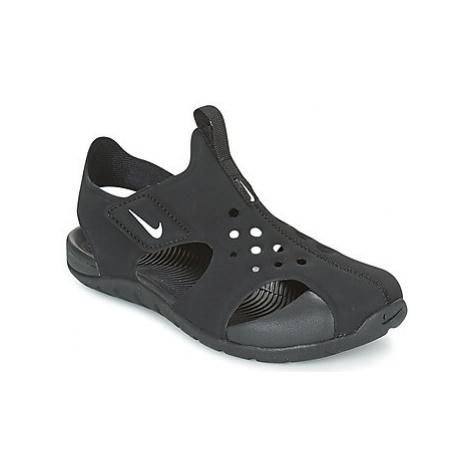 Nike SUNRAY PROTECT 2 CADET girls's Children's Sandals in Black