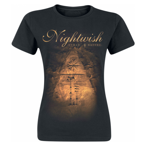 Nightwish - Human. :||: Nature. - Girls shirt - black