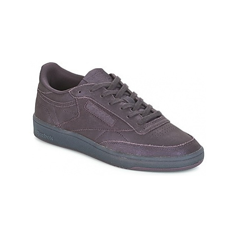 Reebok Classic CLUB C 85 women's Shoes (Trainers) in Purple