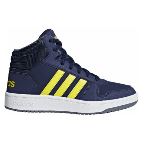 adidas HOOPS MID 2.0 K dark blue - Kids' leisure shoes