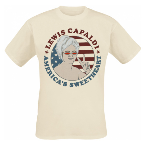 Lewis Capaldi - Sweetheart Tour - T-Shirt - beige