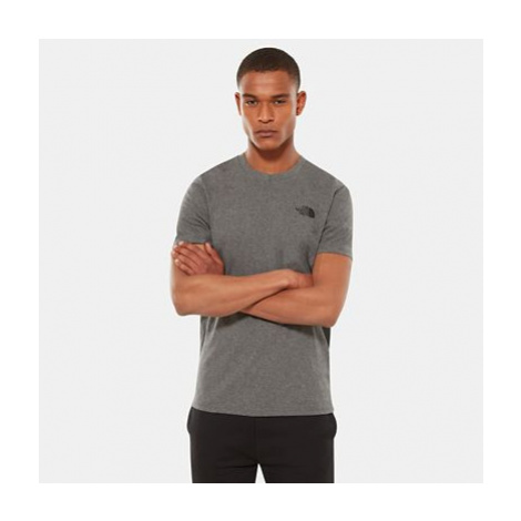 The North Face Men's Simple Dome T-shirt Tnf Medium Grey Heather