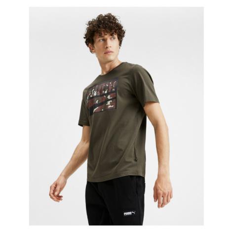 Puma Rebel Camo T-shirt Green