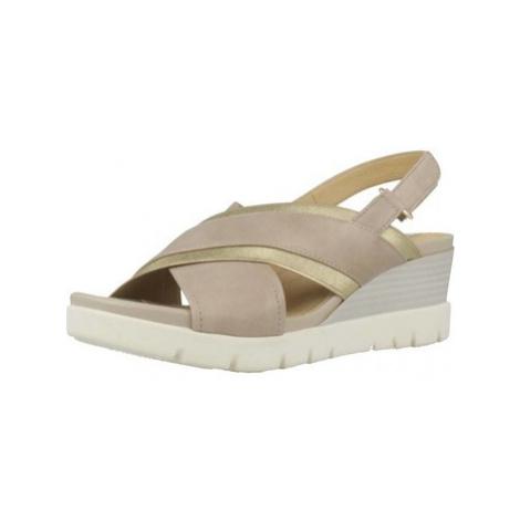 Geox D MARYKARMEN P.D women's Sandals in Brown