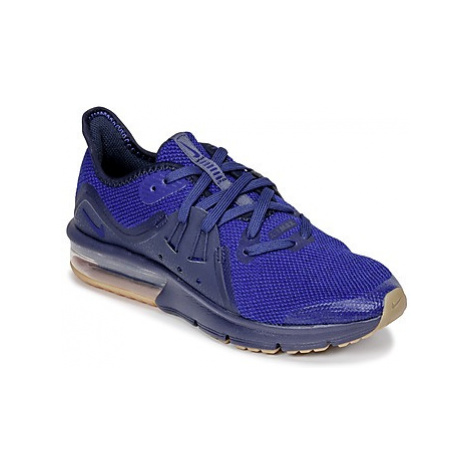 Nike AIR MAX SEQUENT 3 GRADE SCHOOL boys's Children's Shoes (Trainers) in Blue