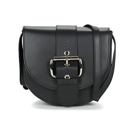 Vivienne Westwood ALEXA SADDLE BAG women's Shoulder Bag in Black