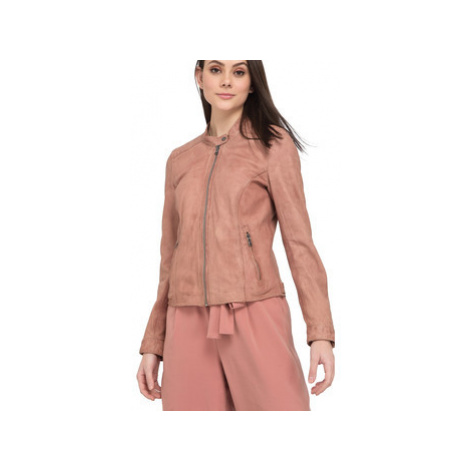 Oakwood Perfecto in sheep leather women's Leather jacket in Pink