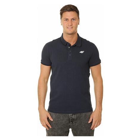 T-Shirt 4F H4L19-TSM024 Polo - 30S/Dark Blue - men´s