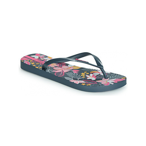 Ipanema BOTANICALS women's Flip flops / Sandals (Shoes) in Blue