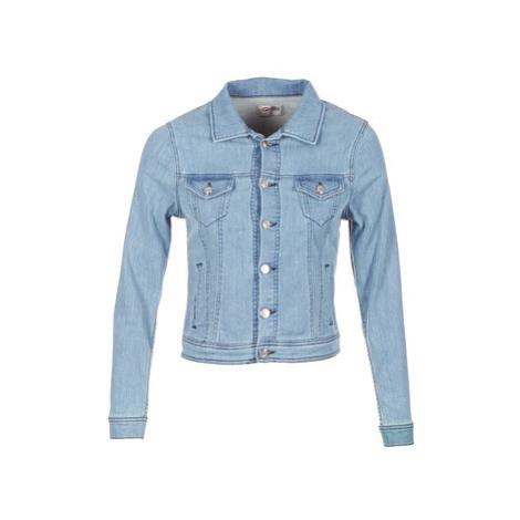 Yurban IHELEFI women's Denim jacket in Blue