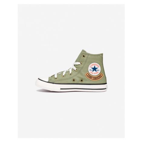 Converse Chuck Taylor All Star Pocket Hi Kids Sneakers Green