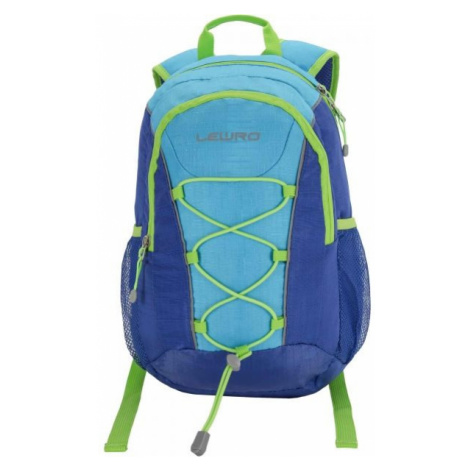 Lewro DINO 12 blue - Universal children's backpack