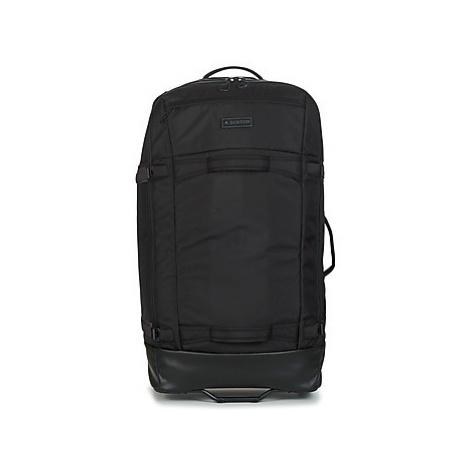 Burton MULTIPATH CHECKED TRAVEL BAG men's Soft Suitcase in Black