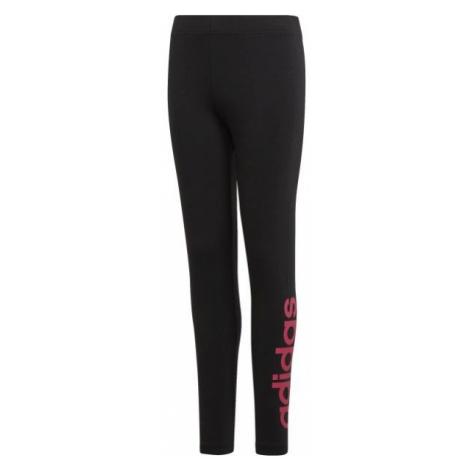 adidas ESSENTIALS LINEAR TIGHT black - Girls' leggings
