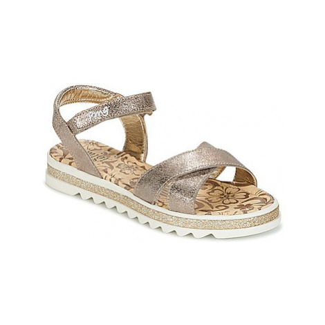 Primigi RAPATITRE girls's Children's Sandals in Grey