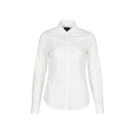 Gant POLKADOT STRETCH BROADCLOTH women's Shirt in White