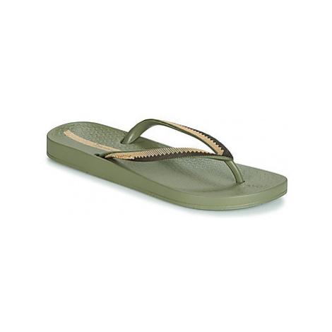 Ipanema ANAT LOVELY IX women's Flip flops / Sandals (Shoes) in Green