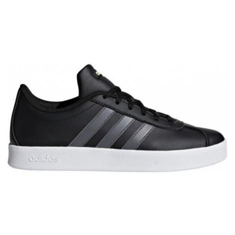 adidas VL COURT 2.0 K black - Children's leisure shoes