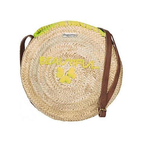 Les Tropéziennes par M Belarbi CALVI 02 women's Shopper bag in Beige