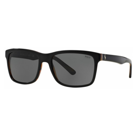 Polo Ralph Lauren Man PH4098 - Frame color: Black, Lens color: Grey-Black, Size 57-18/145