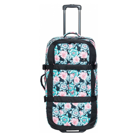 suitcase Roxy Long Haul - XKBM/Anthracite S Crystal Flower - women´s