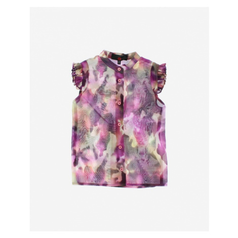 John Richmond Girl Blouse Violet Colorful