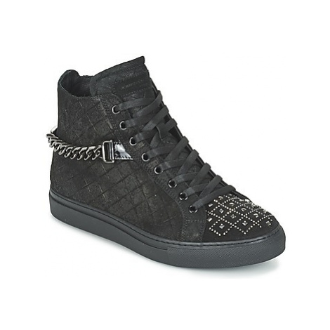 John Galliano RAMBERT women's Shoes (High-top Trainers) in Black