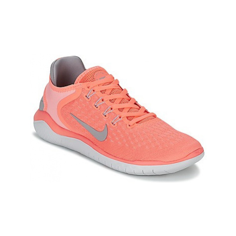 Nike FREE RN 2018 W women's Running Trainers in Pink