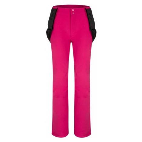 Loap LYDDI pink - Women's softshell trousers