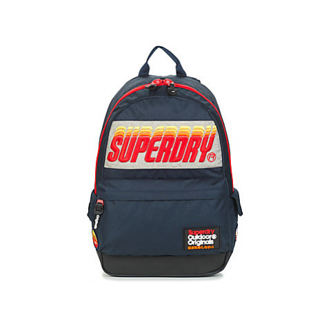 Superdry SUNSET MONTANA men's Backpack in Blue