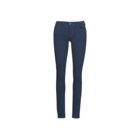 Guess CURVE X women's Skinny Jeans in Blue