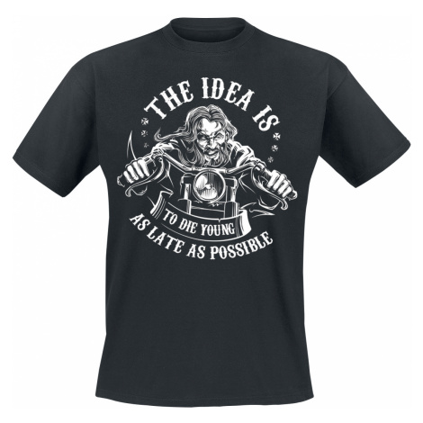 The Idea Is ... - - T-Shirt - black