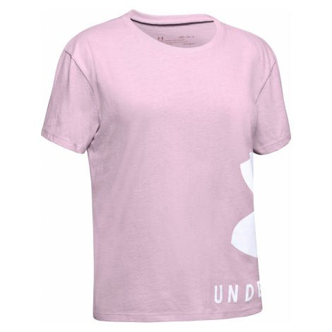 Under Armour Kids T-shirt Pink Beige
