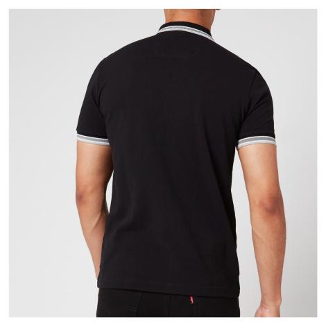 BOSS Men's Paddy Tipped Polo Shirt - Black Hugo Boss