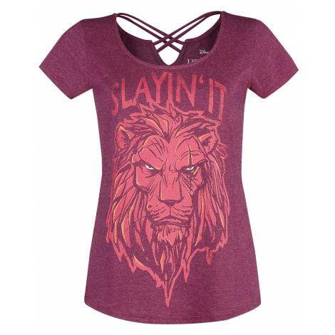 The Lion King - Slayin' it - Girls shirt - dark red