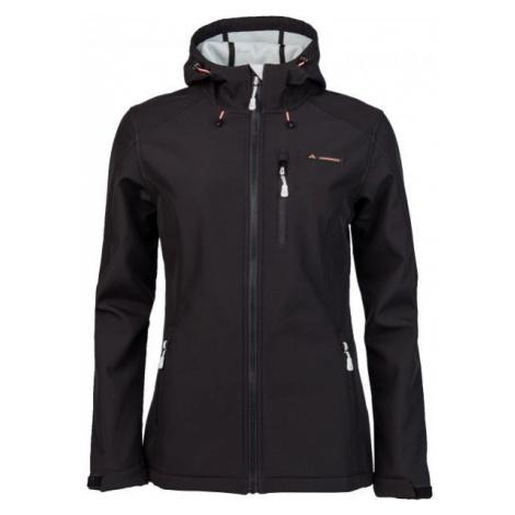 Crossroad FLORY black - Women's softshell jacket