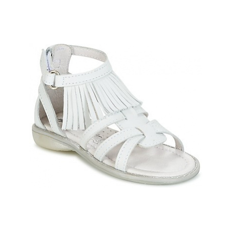 Citrouille et Compagnie RAVIPE girls's Children's Sandals in White