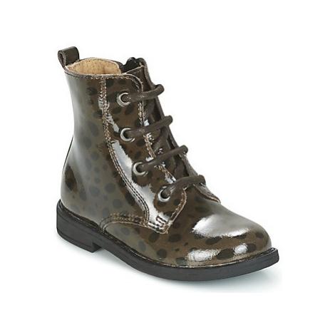 Citrouille et Compagnie HEMANU girls's Children's Mid Boots in Grey