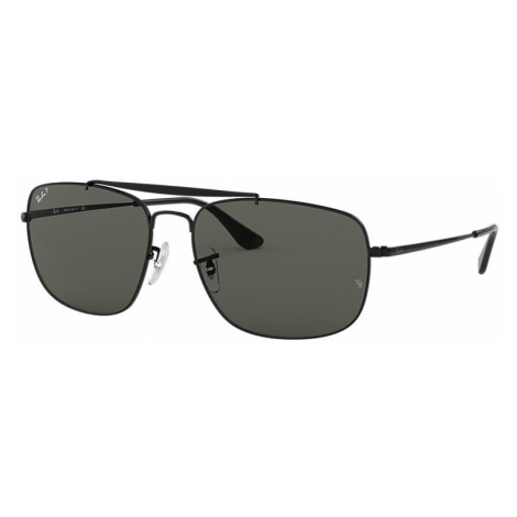 Ray-Ban Colonel Man Sunglasses Lenses: Green Polarized, Frame: Black - RB3560 002/58 61-17