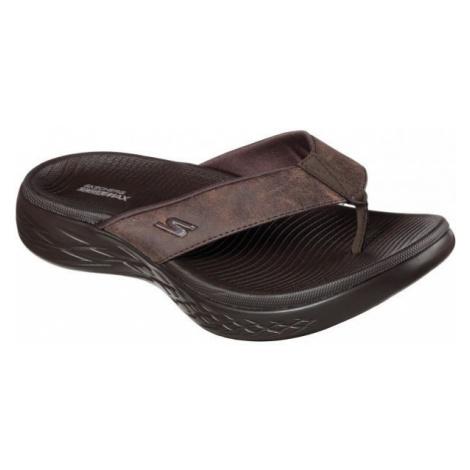 Skechers ON THE GO 600 SEAPORT brown - Men's flip-flops