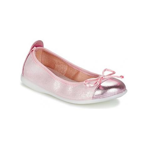 Citrouille et Compagnie GRAGON girls's Children's Shoes (Pumps / Ballerinas) in Pink