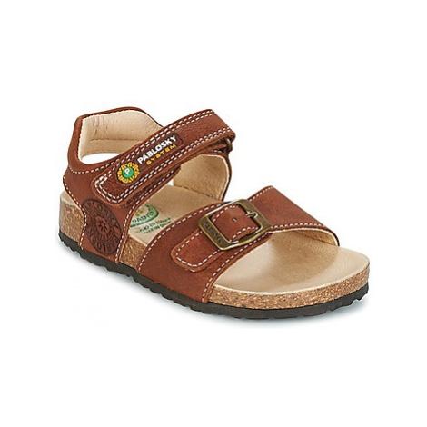 Pablosky KORODE boys's Children's Sandals in Brown